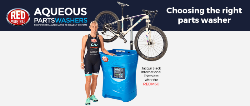 Jacqui Slack Parts Washer Bike Workshops