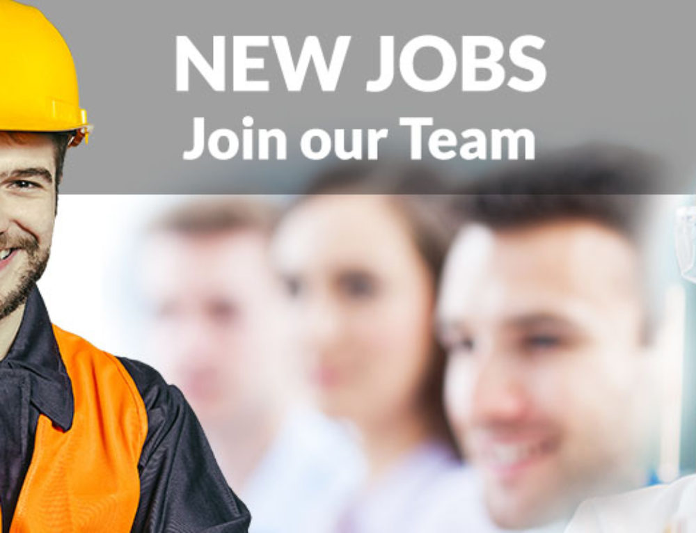 New Jobs at our Stoke & Newcastle sites