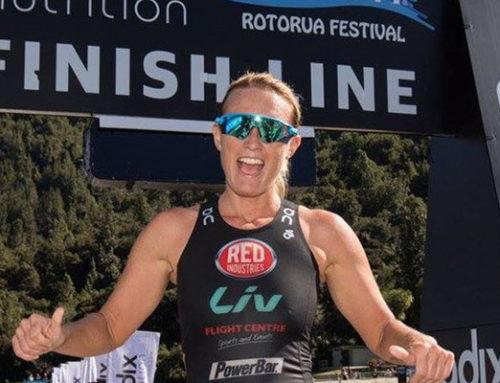 Jacqui is Xterra New Zealand Champion