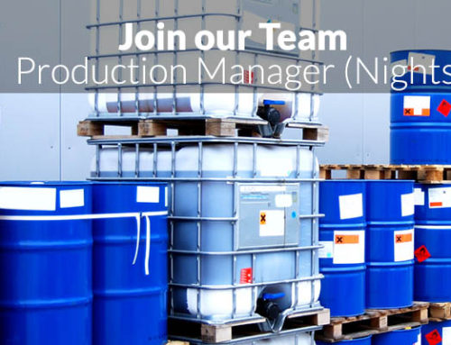 New Job: Night Shift Production Manager