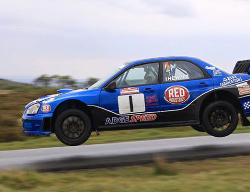 Adrian Takes 2nd at Dixies Historic Rally