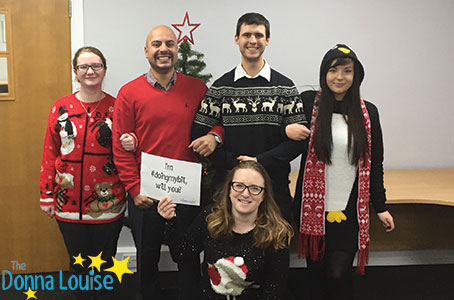 Donna Louise Christmas Jumper Day 2016 - Charity