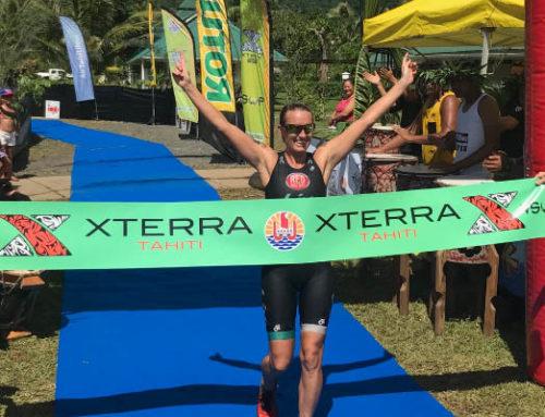 Jacqui's XTERRA Tahiti Win