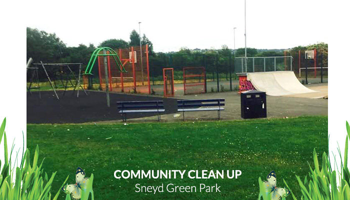 Community Clean Up Sneyd Green