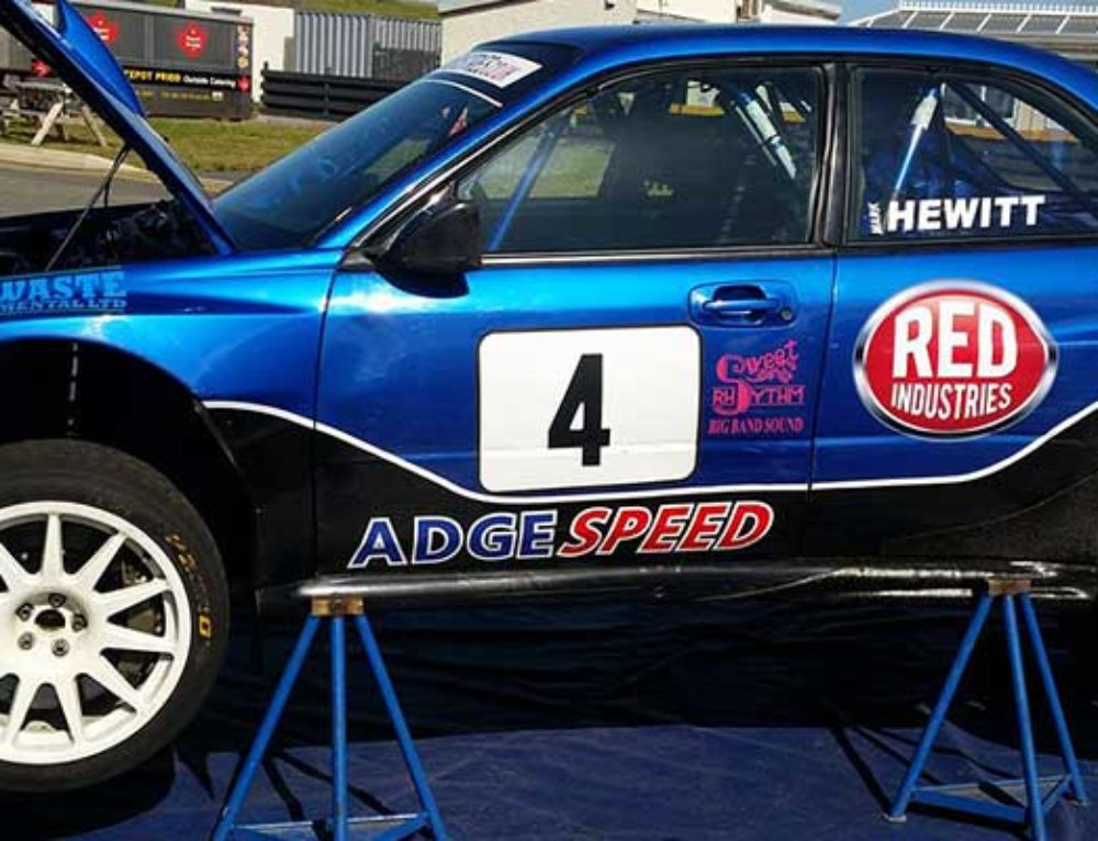 Adrian Spencer at the JRT Enville Stages
