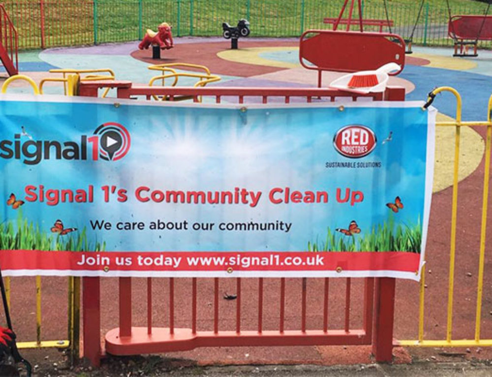 Park Clean Ups Underway