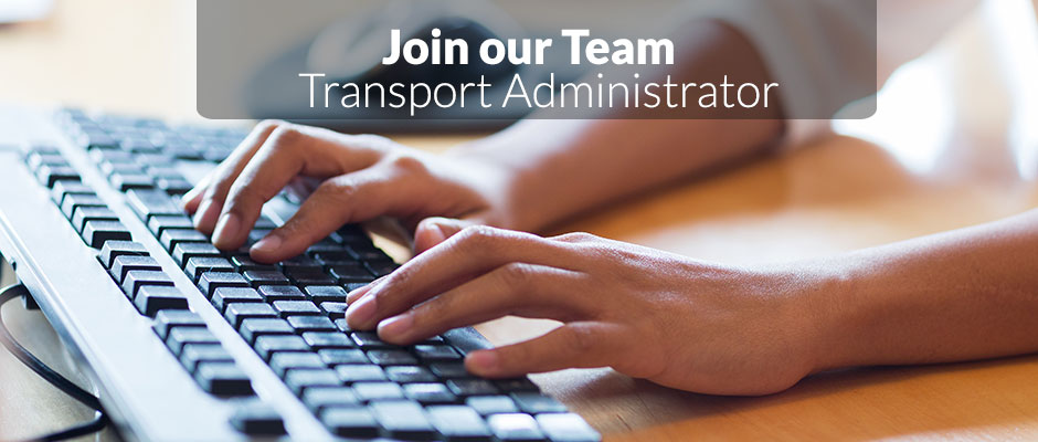 New Job Transport Administrator