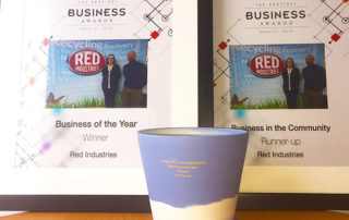 Red Industries Business of the Year 2018 - Sentinel Business Awards