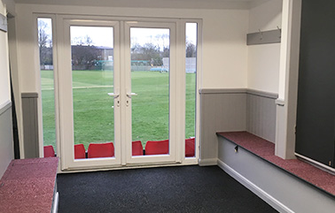 LCF: Newcastle & Hartshill Cricket Club - Changing & Toilet Facilities