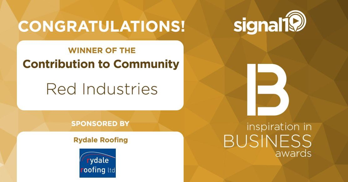 Signal Business Awards Contribution to Community