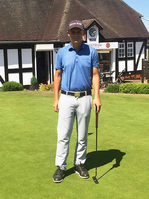 Danny Worsdale Golf Trentham
