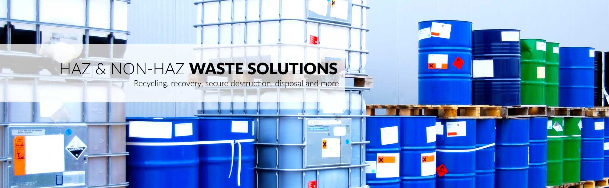 Waste Management Services and Solutions