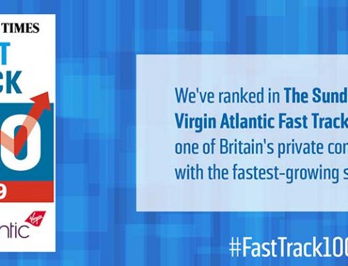 Red Industries in Sunday Times Virgin Atlantic Fast Track 100