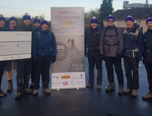 Arctic Trek Challenge for Dougie Mac