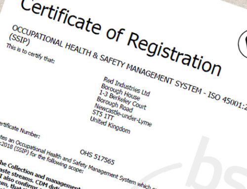 ISO 45001 – Health and Safety Certificate