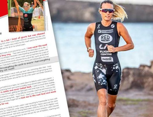 We chat to world class triathlete Jacqui Allen
