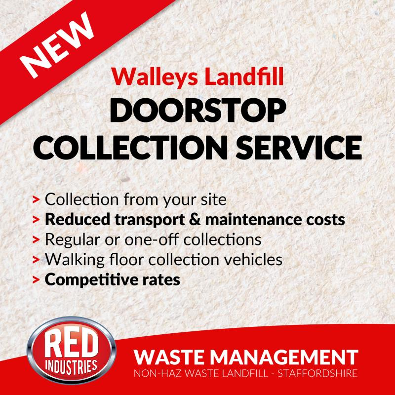 Walleys Landfill Doorstep Collections
